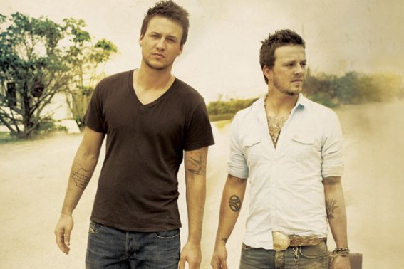 Eric Gunderson and Stephen Barker Liles of Love and Theft.