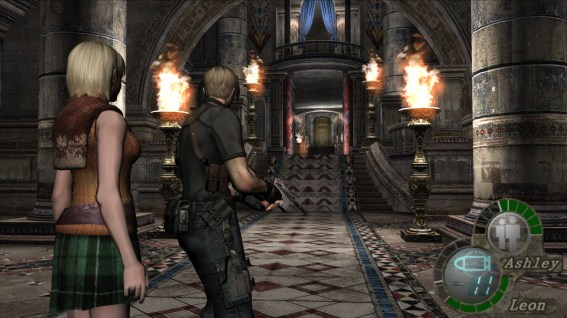 Why you so cliche for, Leon?! (SOURCE: Screenshot from Resident Evil 4 game)