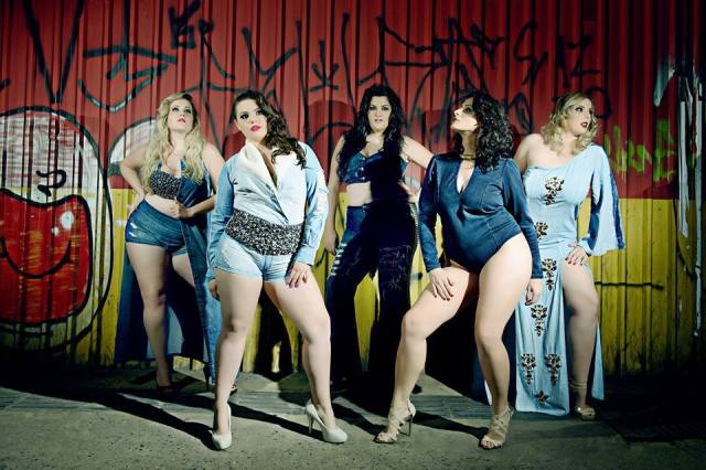 I wouldn't even say these models are plus size. They're just how they should be. (Image via Marden Plus Size Facebook page)