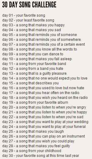 30daysong