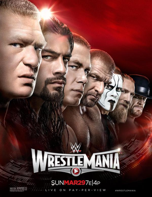 But seriously, why is Nikki Bella's face not on this poster?